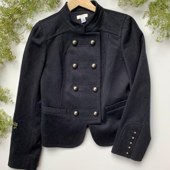 LOFT Jackets & Blazers - AT LOFT I Double Button Navy Jacket